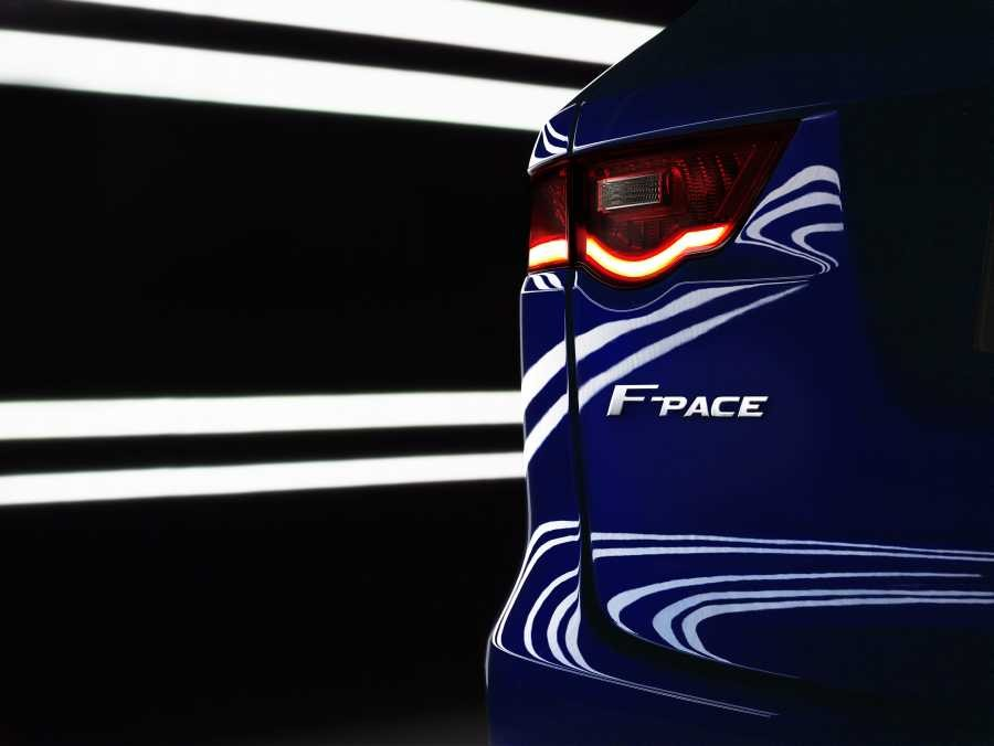 Glimpse into the future - the upcoming Jaguar F-PACE
